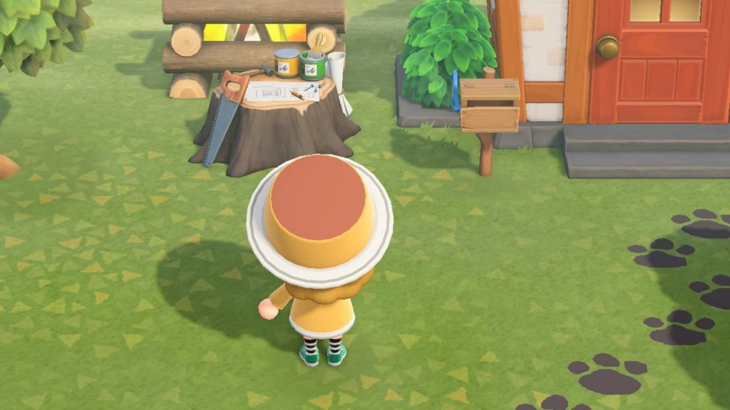 プリンの帽子-完成形
