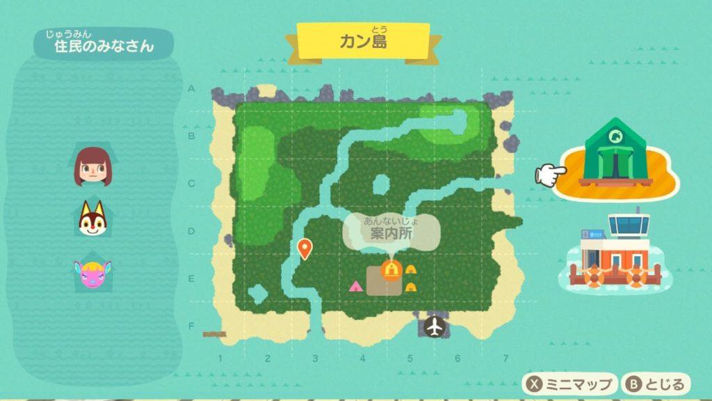プレイ日記2-島MAP