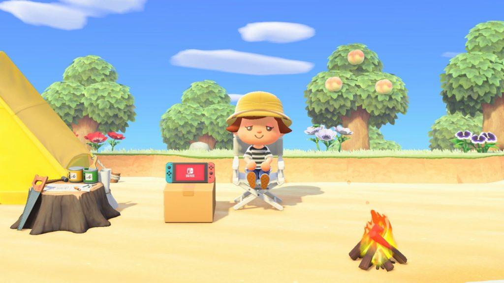 アップデートへのお礼家具「Nintendo Switch」