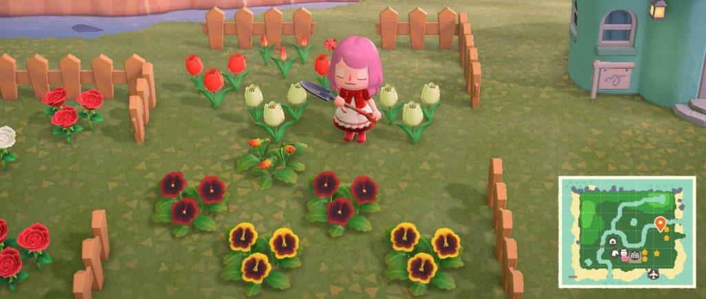 花壇づくりの例