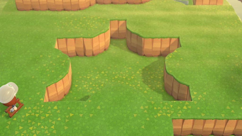 くぼ地の作り方3