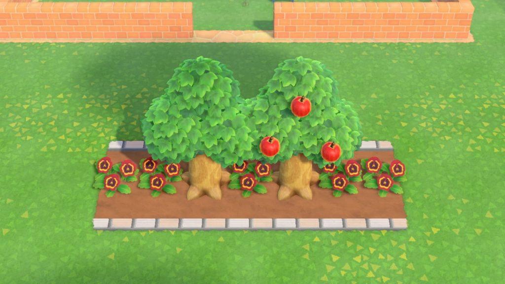 道路とマイデザインで花壇つくり
