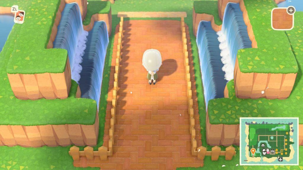 あつ森 噴水広場 作り方