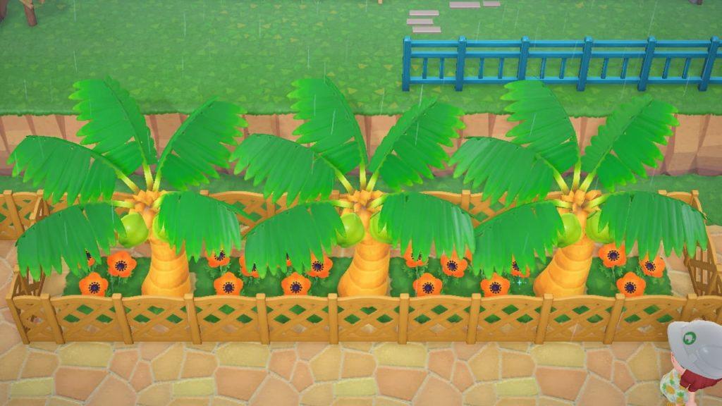 ヤシの木の並木を作る手順4