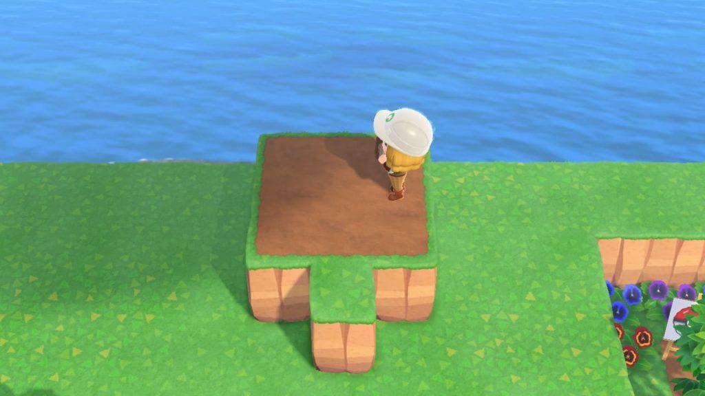 崖を飾る基本の手順2