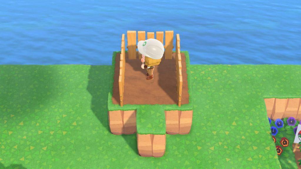 崖を飾る基本の手順3