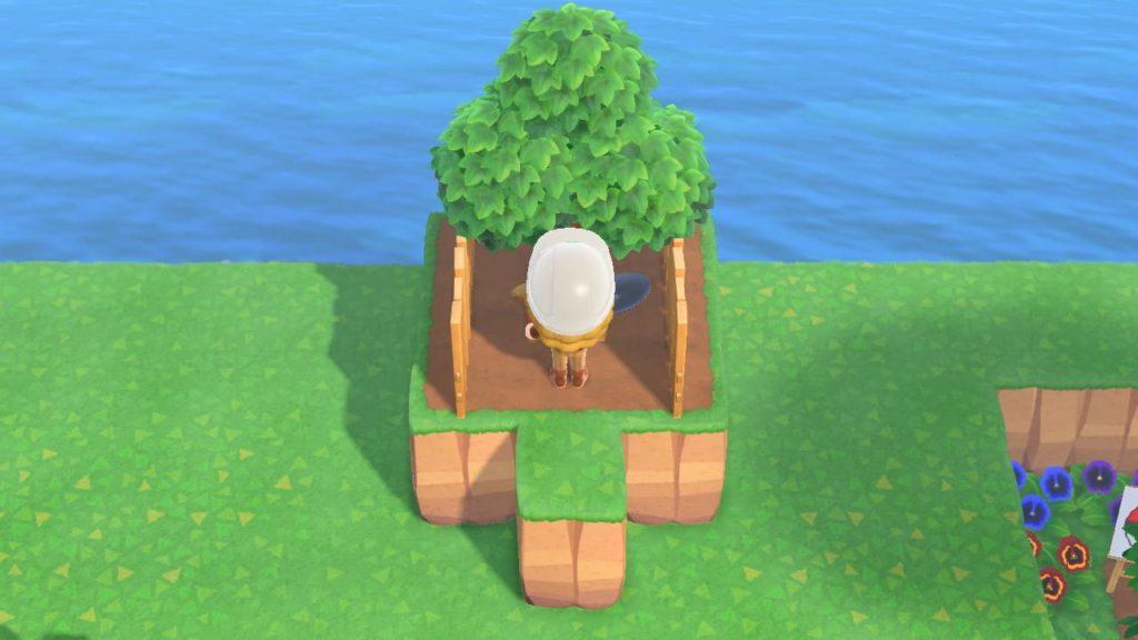 崖を飾る基本の手順4