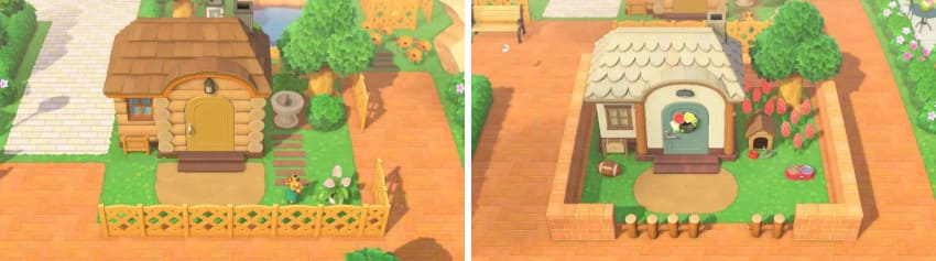 住民の家-シンプルな庭2