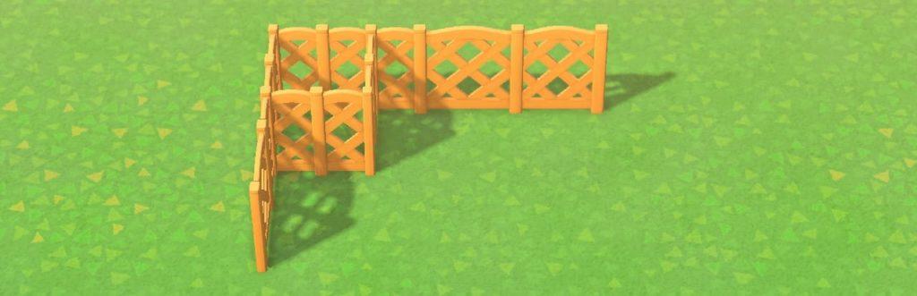 角に四角い区切りを作る