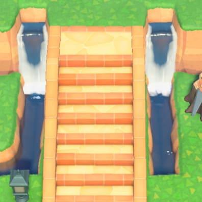 移設できない-階段