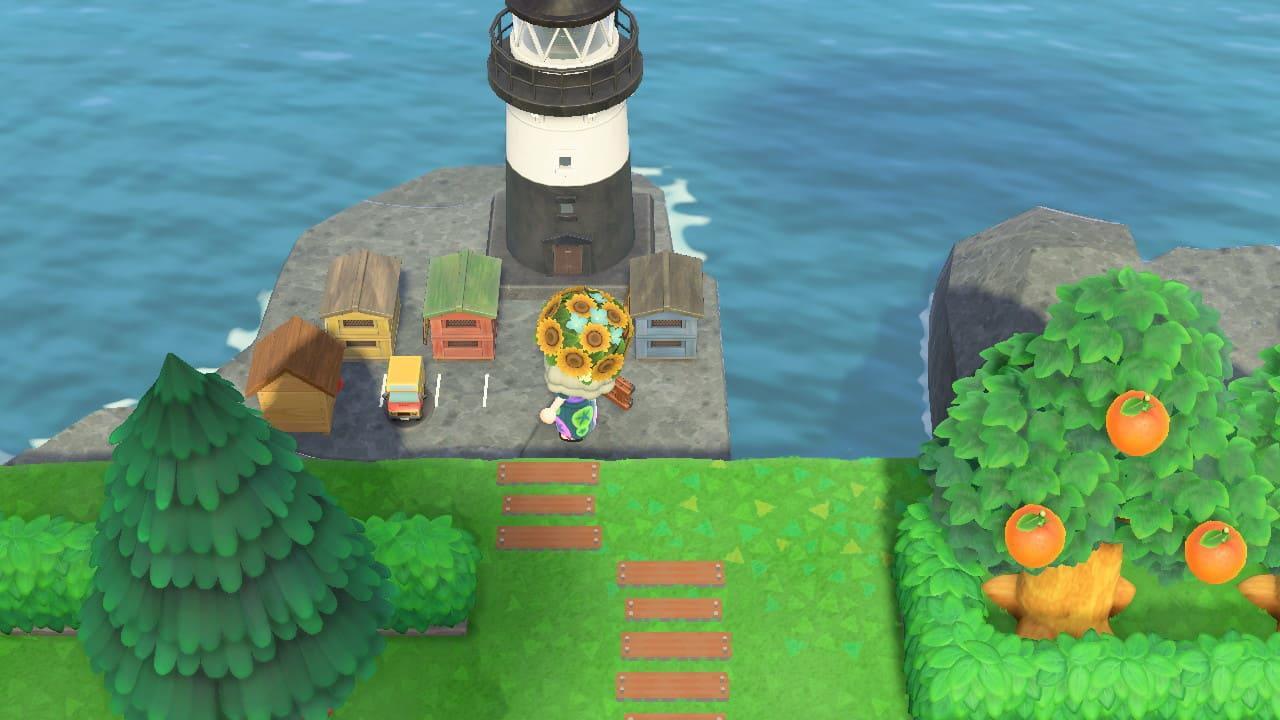 レイアウト あつ 森 灯台