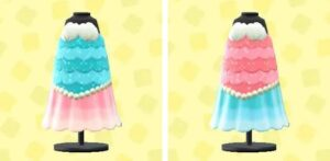 マーメイドなおさかなドレス