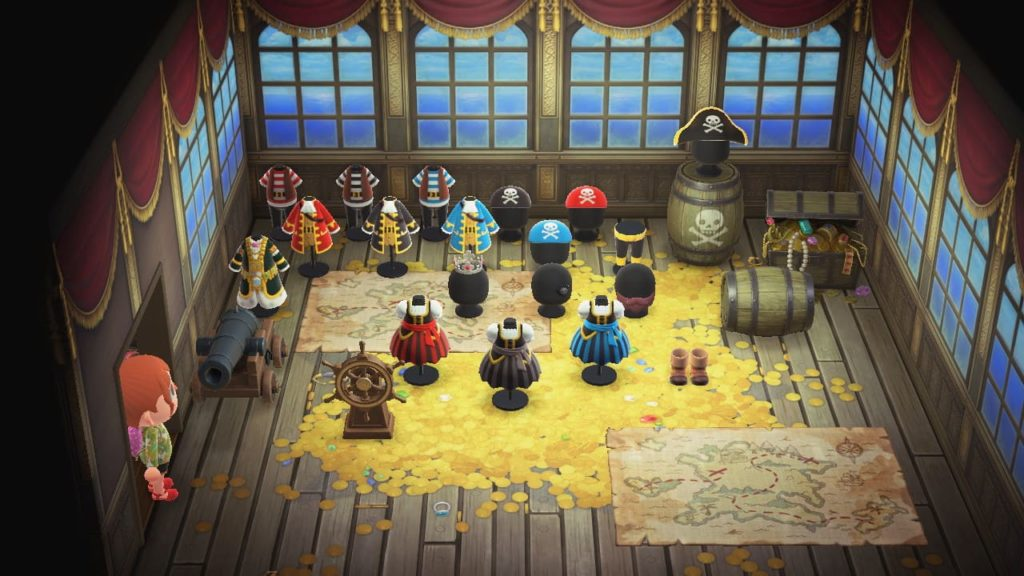 海賊シリーズ全種を並べた画像