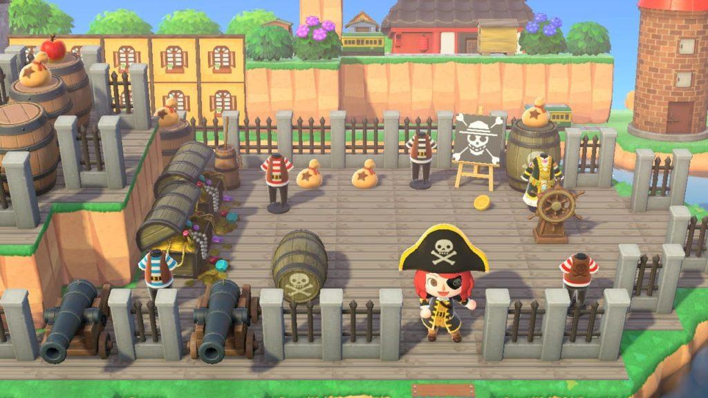 海賊船の別角度