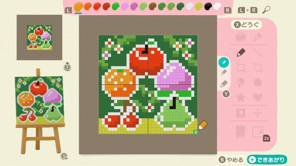 果樹園の屋台用マイデザイン
