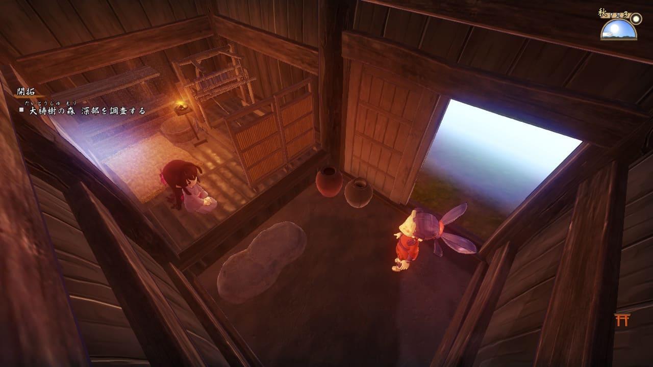 第2章-機織り小屋の完成