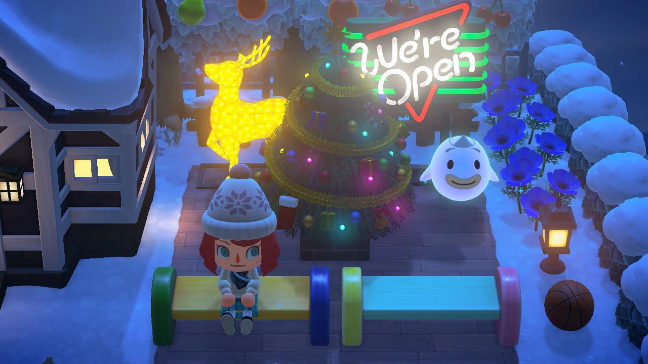 クリスマス家具を飾る-1