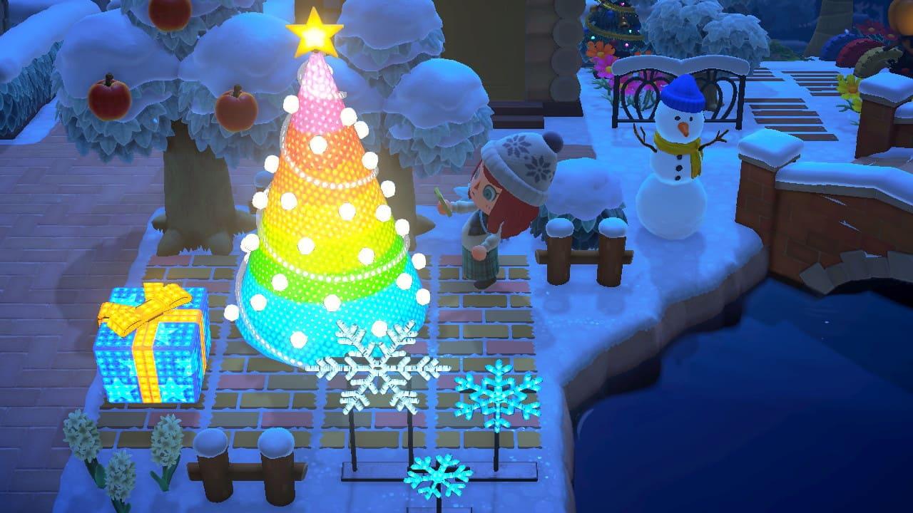 クリスマス家具を飾る-2